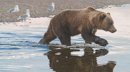 Kodiak Collaboration, by Daniel Smith LIMITED EDITION CANVAS