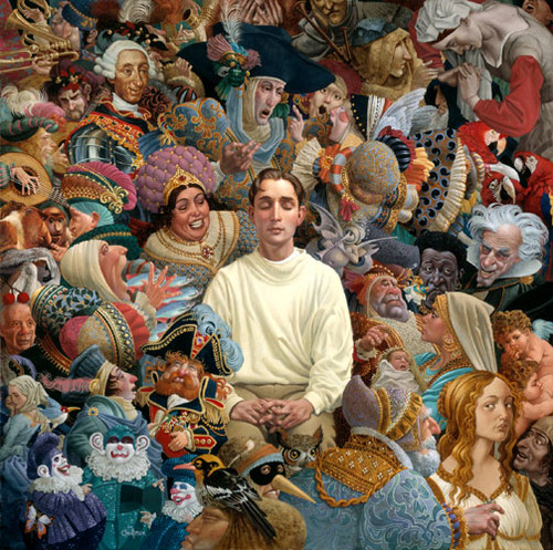 The Listener, James Christensen LIMITED EDITION PRINT