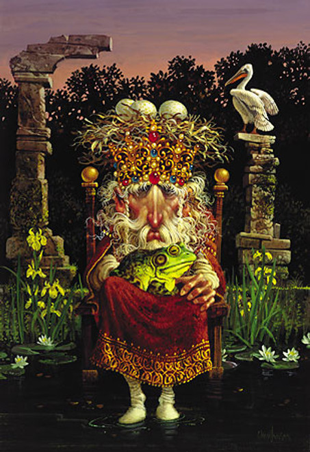 PELICAN KING and Prince, James Christensen LIMITED EDITION PRINT