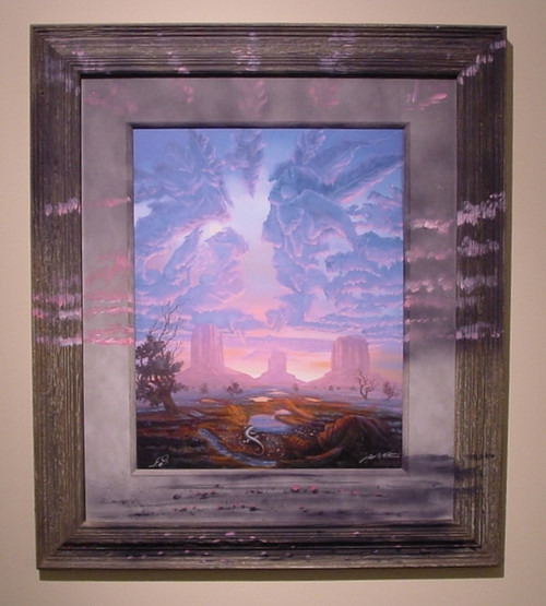 Bearcloud painted frame