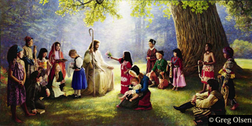 Children of the World Greg Olsen© Limited Edition Print