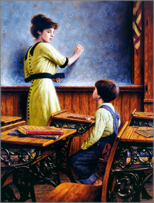 Jim Daly - After School Lessons - Premier Canvas
