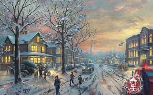 A Christmas Story by Thomas Kinkade