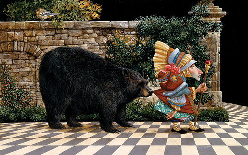 Lawrence Pretended Not to Notice That a Bear Had Become, James Christensen ANNIVERSARY EDITION
