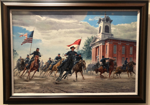 Rendezvous with Destiny by Mort Kunstler - Framed Giclee