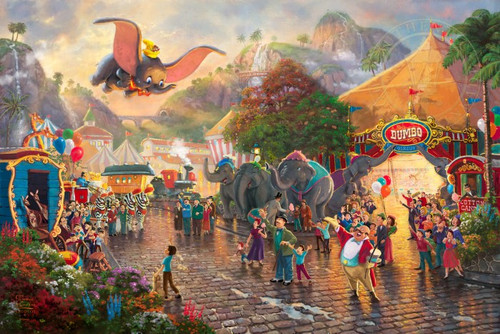 Dumbo Disney Art
