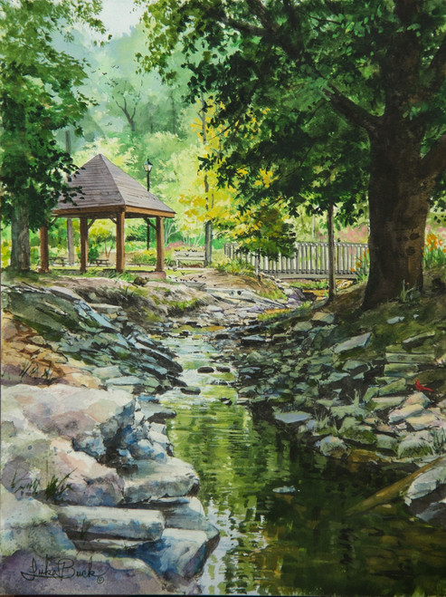 Fuquay Mineral Springs painting