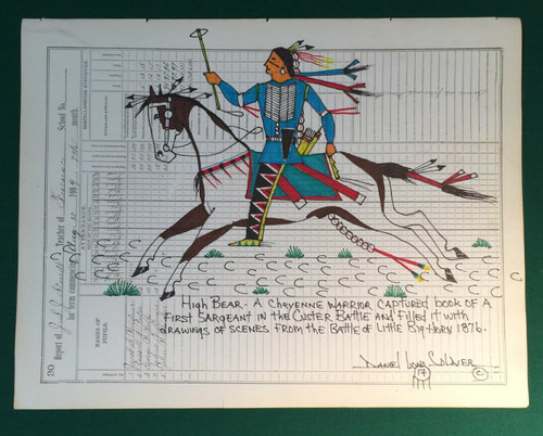 High Bear Cheyenne Warrior