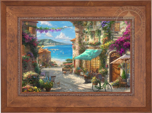 Italian Cafe by Thomas Kinkade Studios