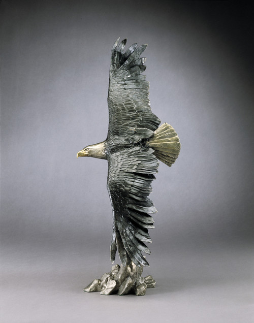 Vigilance | Eagle Sculpture | Mark Hopkins