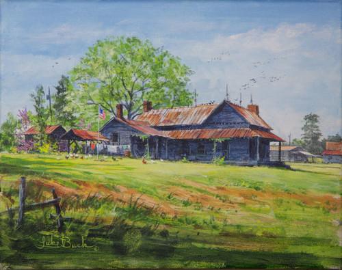 Luke Buck original painting