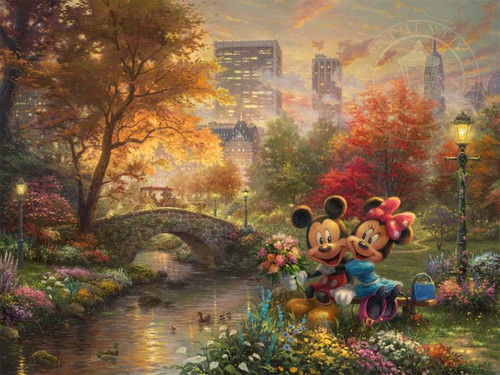 Mickey - Minnie Central Park