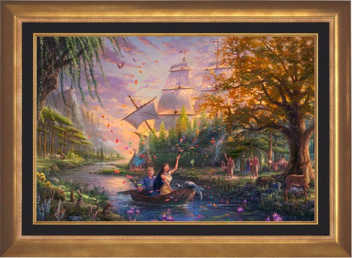 Pocohontas by Thomas Kinkade Studios