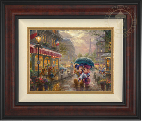Mickey & Minnie in Paris | Thomas Kinkade Studios