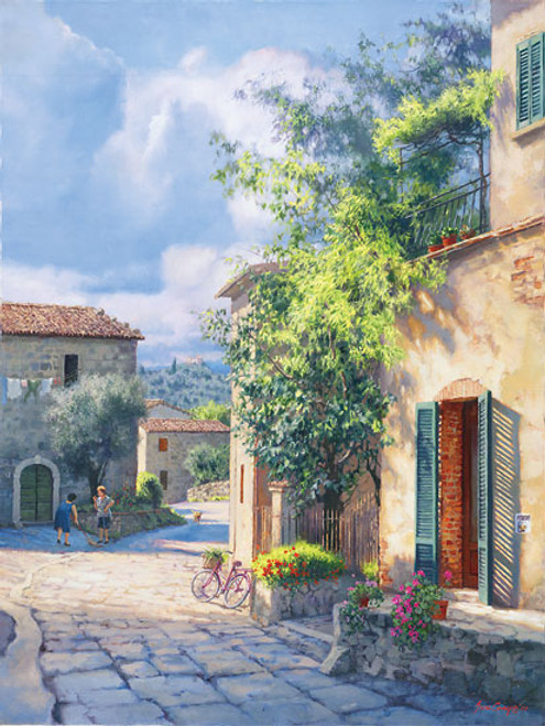 Lost in Chianti, June Carey  MASTERWORK CANVAS EDITION