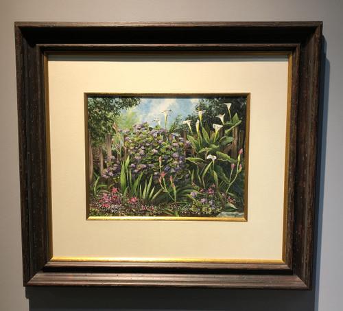 William Mangum painting