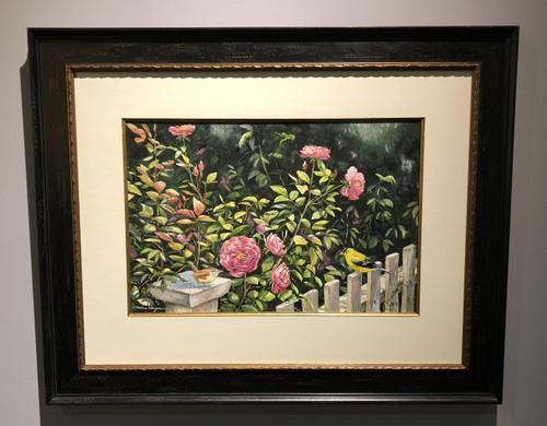 Pink Roses William Mangum original painting