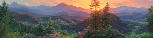 Evening Overlook Mark Keathley