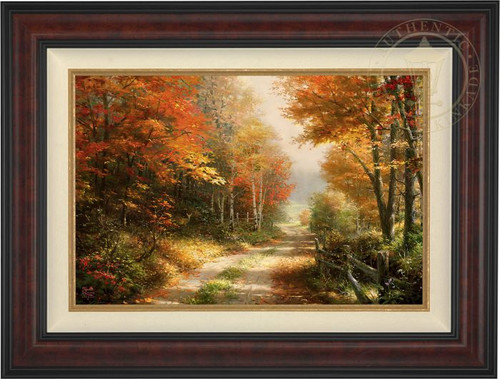 Walk Down Autumn Lane by Thomas Kinkade Studios