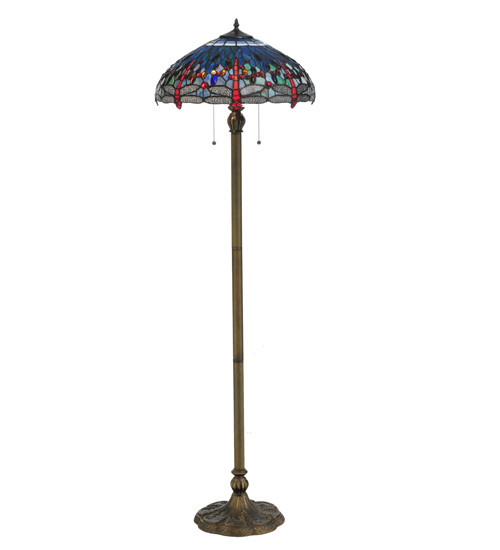 Dragonfly Tiffany floor lamp