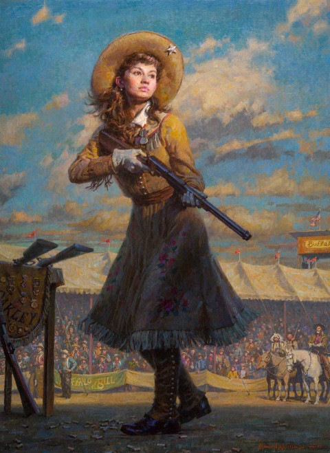Little Sure Shot, Annie Oakley by Morgan Weistling