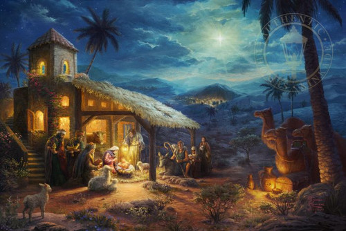 The Nativity by Thomas Kinkade Studios
