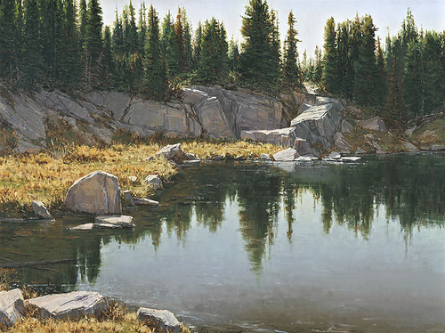 Still Waters by Carole Cooke MASTERWORK CANVAS EDITION