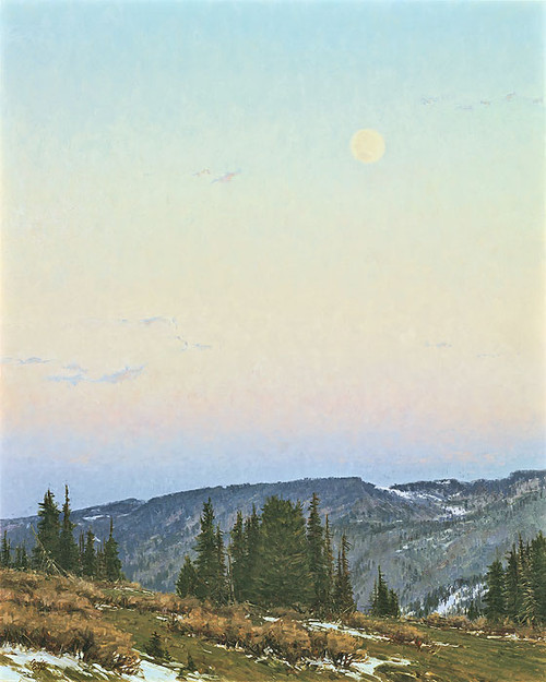Twilight Moon by Carole Cooke LIMITED EDITION CANVAS