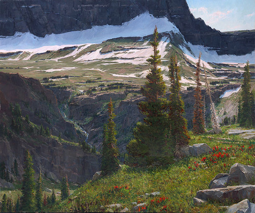 Alpine Reverie by Carole Cooke LIMITED EDITION CANVAS