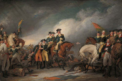 The Capture of the Hessians at Trenton, December 26, 1776, OPEN EDITION CANVAS
