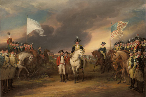 The Surrender of Lord Cornwallis at Yorktown, by John Trumbull
