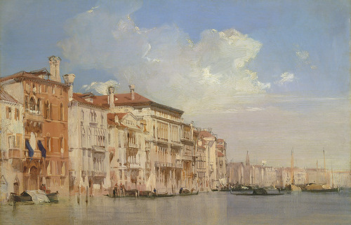 Grand Canal, Venice, OPEN EDITION CANVAS
