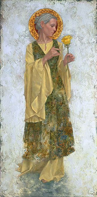 The Yellow Rose by James Christensen