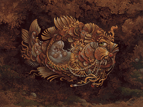 Jonah by James Christensen ANNIVERSARY EDITION CANVAS