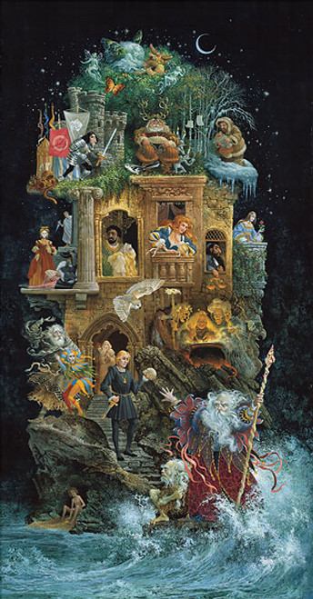Shakespearean Fantasy by James Christensen