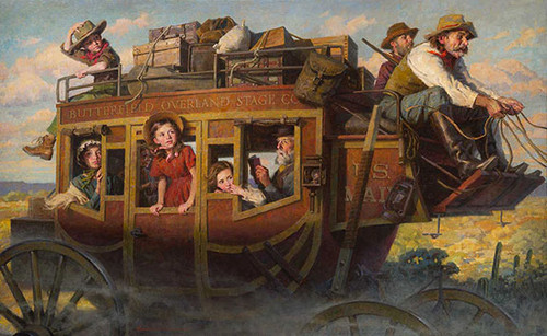 Stagecoach Journey Morgan Weistling