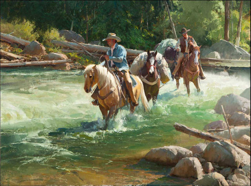 River Runners by Bill Anton