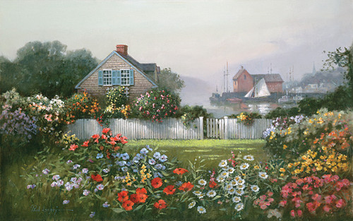 A Sailor´s Garden by Paul Landry