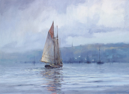 A Schooners return by Paul Landry