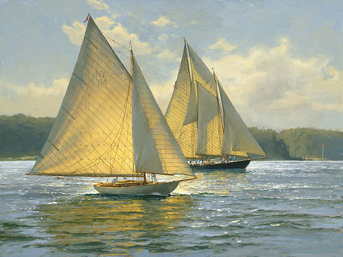 Bay Light by Don Demers