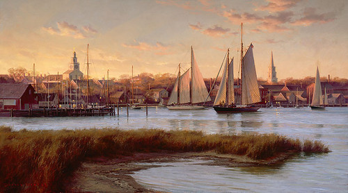 Nantucket Twilight by Don Demers