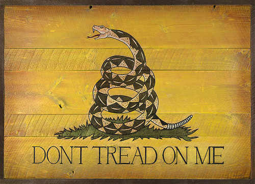 Do not tread on me