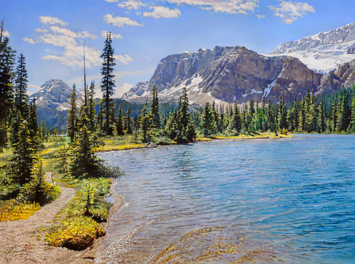 Bow Lake by Richard Mravik