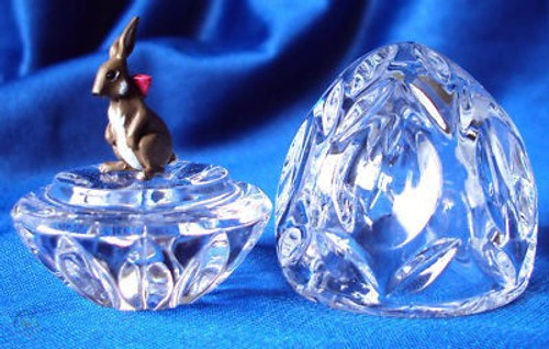Waterford Crystal Jewels - Egg & Bunny