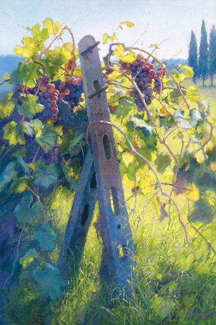 Imported Vines, June Carey  LIMITED EDITION CANVAS