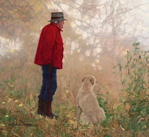 Autumn Friends, John Weiss LIMITED EDITION CANVAS