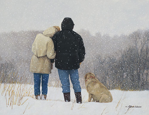 Tender Moments, John Weiss LIMITED EDITION CANVAS