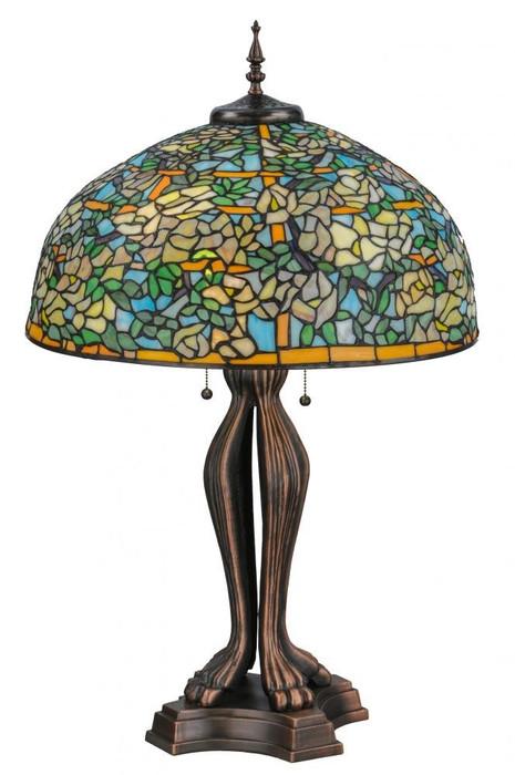 large tiffany lamp