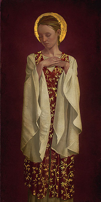 Saint with White Sleeves, James Christensen LIMITED EDITION PRINT