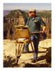 Artist in residence at the Grand Canyon
